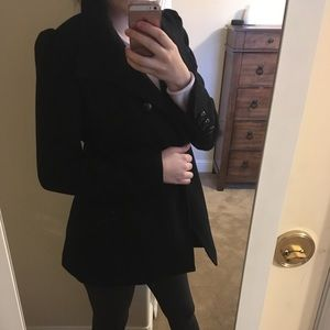 M. Julian Will Double Breasted Pea Coat